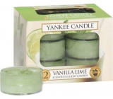 Yankee Candle Vanilla Lime - Vanilla with lime scented candle 12 x 9.8 g