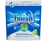 Finish Quantum Max Apple & Lime dishwasher tablets 36 pieces