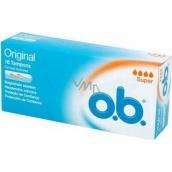ob Original Super tampons 16 pieces