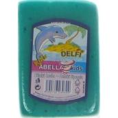 Abella Kids Delfi bath sponge 11 x 7 x 4 cm various colors 1 piece