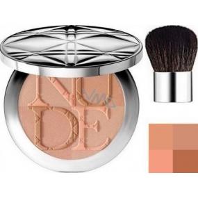 Christian Dior DiorSkin Nude Tan Couleur Eclat radiant powder shade 002 Sunlight 10 g