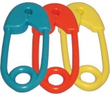 Baby Farlin rattle pin in different colors 1 piece