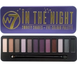 W7 In The Night Eye Color Palette palette of 12 eye shadows
