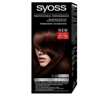 Syoss Professional barva na vlasy 3-28 Tmavá čokoláda