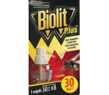 Biolit Plus Electric vaporizer with the scent of citronella against mosquitoes and flies refill 30 nights 31 ml