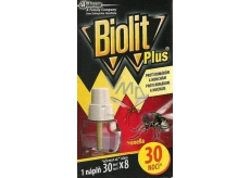 Biolit Plus Electric vaporizer with lemon smell against mosquitoes and flies refill 30 nights 31 ml