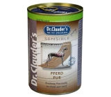 Dr. Clauders Sensible Koňské maso pro dospělé citlivé psy 100% masa 400 g