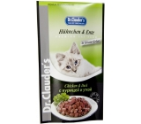 Dr. Clauders Chicken and duck in sauce complete food with pieces of meat for cats pocket 100 g