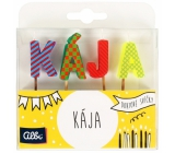 Albi Cake candles name - Kája, 2.5 cm