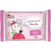 Pink Elephant Mouse Mia Cream Soap for Children 90 g