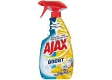 Ajax Boost Baking Soda & Lemon Universal cleaning agent degreases, cleans, protects delicate surfaces spray 500 ml