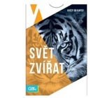 Albi Pocket quizzes Animal world 50 cards, age: 12+