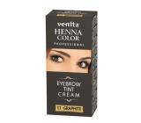 Venita Henna Profesional cream eyebrow color Graphite 15 ml