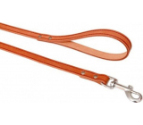 B&F Cognac cowhide leash 1.6 x 120 cm