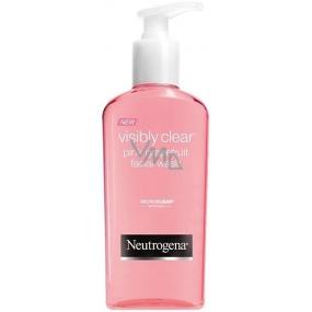 Neutrogena Visibly Clear pink grapefruit washing emulsion 200 ml