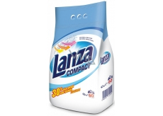 Lanza Compact washing powder for white linen 60 doses of 4.5 kg