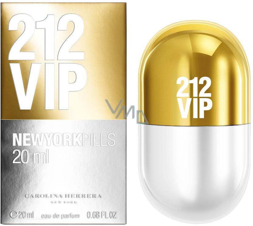 Carolina Herrera 212 Vip Women New York Pills Parfémovaná Voda 20 Ml