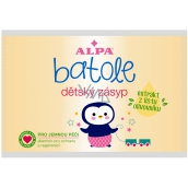 Alpa Toddler powder with olive tree leaf extract for children, spare bag 100 g