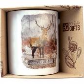 Bohemia Gifts & Cosmetics Keramický hrnek s obrázkem Pro myslivce a milovníky lesa 350 ml