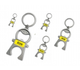 Albi Keychain with date - opener June 5 x 12 x 0,2 cm