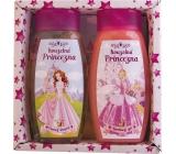 Bohemia Gifts & Cosmetics Kids Princess shower gel 250 ml + hair shampoo 250 ml, cosmetic set
