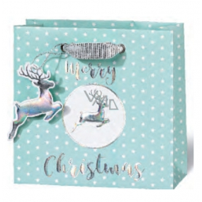 BSB Luxury gift paper bag 14.5 x 15 x 6 cm Christmas VDT 430 - CD
