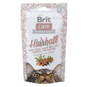 Brit Care Cat Snack Hairball Kacgna semi-soft supplement 50 g