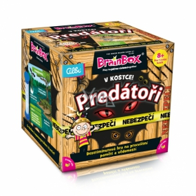 Albi In a nutshell! Predators a 10-minute memory and knowledge-training game for children age: 8+
