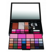 Body Collection Mirrorr Pallette Large Cosmetic Makeup Cartridge in Black Case
