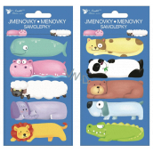 Self-adhesive gift tags Animals 8 x 16 cm