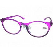 Berkeley Reading glasses +1.5 plastic purple, round glass 1 piece MC2171