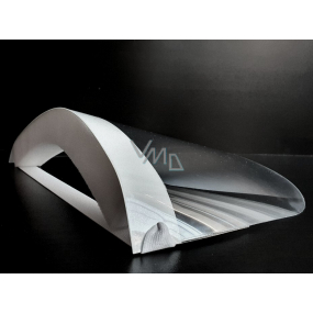 Disposable face shield, PVC / PUR, elastic