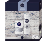 Nivea Men Sensitive Recovery After Shave Balm 100 ml + Shaving Foam 200 ml, cosmetic set for men