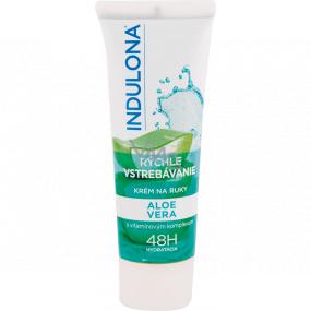 Indulona Fast absorption Aloe Vera hand cream 50 ml