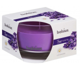 Bolsius True Scents Lavender - Lavender scented candle in glass 90 x 63 mm