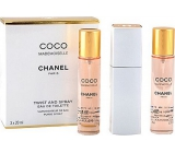 Chanel Coco Mademoiselle EdT 100 ml eau de toilette Ladies 3 x 20 ml