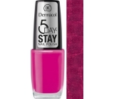 Dermacol 5 Day Stay Nail Polish lak nehty 09 10 ml