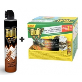 Biolit Plus Stop spiders spray 400 ml + catcher for wasps, hornets and flies set of 200 ml