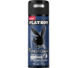 Playboy King of The Game deodorant sprej pro muže 150 ml