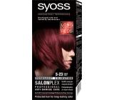 Syoss Color SalonPlex barva na vlasy 5-23 Rubínově červený