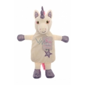 Wildlife Warmers Thermophore heating bottle for children Unicorn purple 1 l