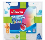 Vileda Microslip Colors design Universal cloth 30 x 30 cm 3 pieces