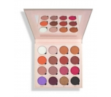 Makeup Obsession palette mix of 16 pigmented eye shadows, of which 7 matt, 6 glossy and 2 matt with glitter shade Belle Jorden 20.8 g