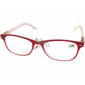 Berkeley Reading glasses +1.0 plastic red 1 piece MC2136