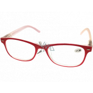 Berkeley Reading glasses +1.0 plastic red 1 piece MC2136