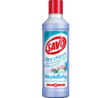 Savo Spring freshness chlorine-free liquid floor cleaning and disinfectant 1 l