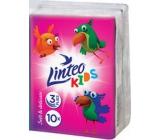 Linteo Kids mini paper handkerchiefs 3 layers 1 piece