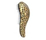 Dtangler Detangling Brush 18.5 cm Leopard Yellow Hair Brush