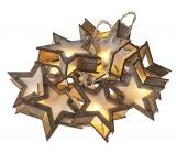 Emos Lighting Christmas Chain Star 3D, 1.35m, 10 LEDs, Warm White + 0.3m Supply Cab