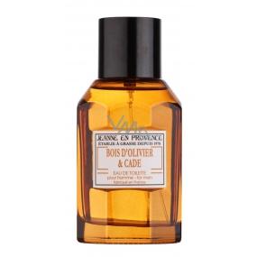 Jeanne en Provence Men Bois D Olivier & Cade Eau de Toilette for Men 100 ml Tester